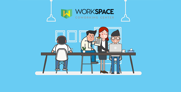 Workspace - Creative Office Space Script Theme - CodeCanyon Item for Sale