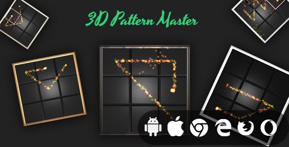 3D Pattern Master - Cross Platform Addictive Casual Game - CodeCanyon Item for Sale
