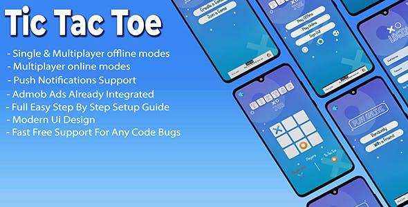 Tic Tac Toe  (Online & Offline support)