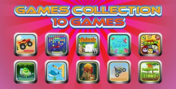 Game Collection 17 (CAPX | HTML5 | Cordova) 10 Games