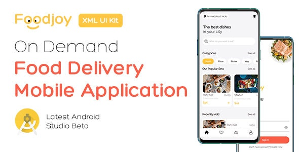 On Demand Food Delivery App UI Kit - CodeCanyon Item for Sale