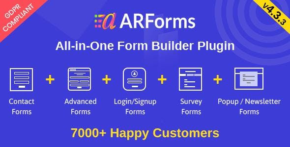 ARForms: Wordpress Form Builder Plugin