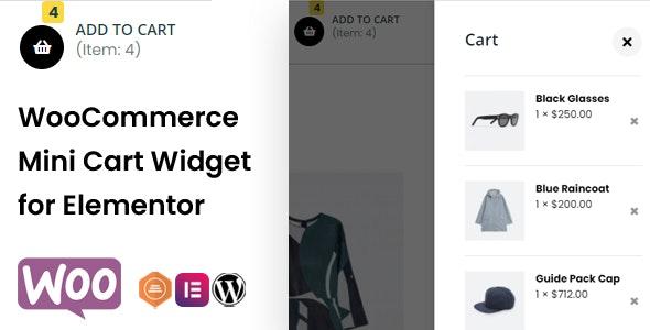 WooCommerce Mini Cart Widget for Elementor - CodeCanyon Item for Sale