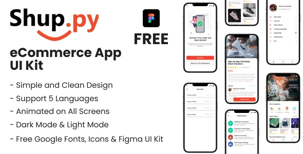 Shuppy Flutter eCommerce UI kit - CodeCanyon Item for Sale