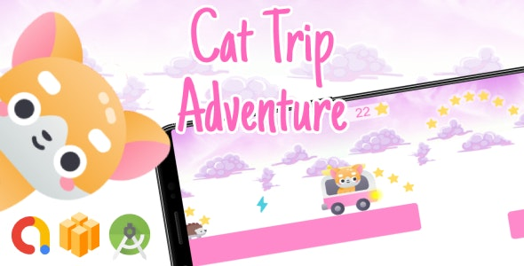 Cat Trip Adventure Android Game with AdMob - CodeCanyon Item for Sale