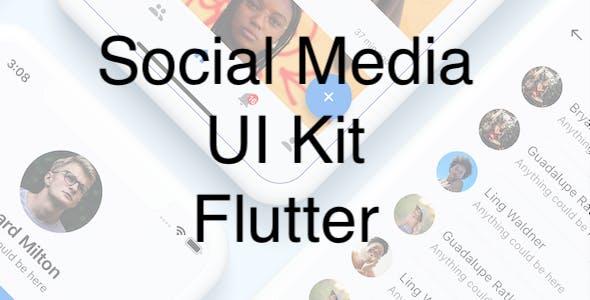 Social Media App UI Kit - Flutter