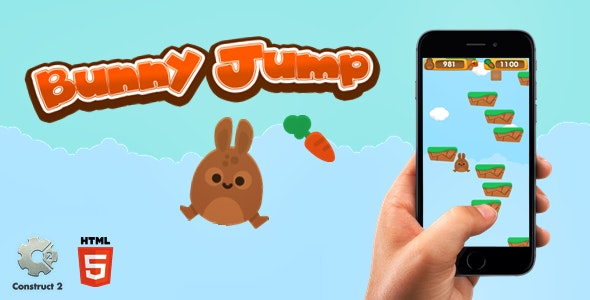 Bunny Jump - Html5 Game - CodeCanyon Item for Sale