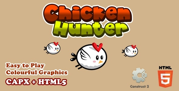 Chicken Hunter - Html5 Game - CodeCanyon Item for Sale