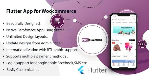 Flutter Multivendor Mobile app for WooCommerce - CodeCanyon Item for Sale