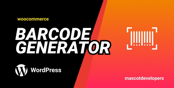 Order Barcode Plugin | A Barcode Generator - CodeCanyon Item for Sale