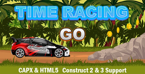 Time Racing (CAPX and HTML5) Car Game - CodeCanyon Item for Sale