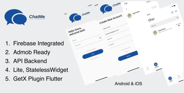 ChatMe - Simply Messaging Flutter