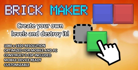 Brick Maker - HTML 5 Game - CodeCanyon Item for Sale