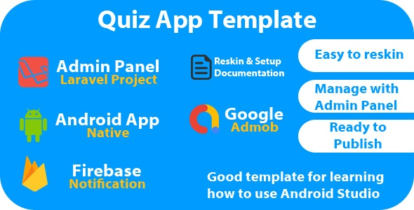 Quiz App Template - CodeCanyon Item for Sale