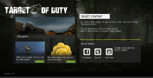 Target Of Duty V6 - CodeCanyon Item for Sale