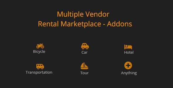 Multiple Vendor for Rental Marketplace in WooCommerce (add-ons)