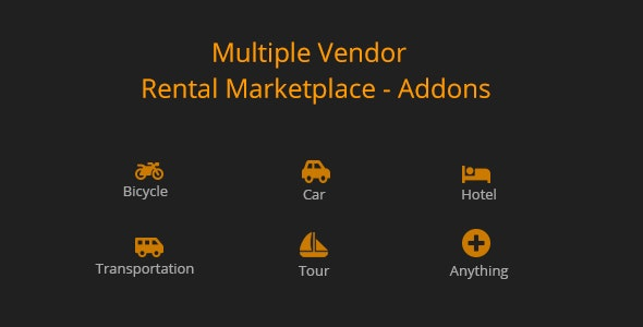 Multiple Vendor for Rental Marketplace in WooCommerce (add-ons) - CodeCanyon Item for Sale