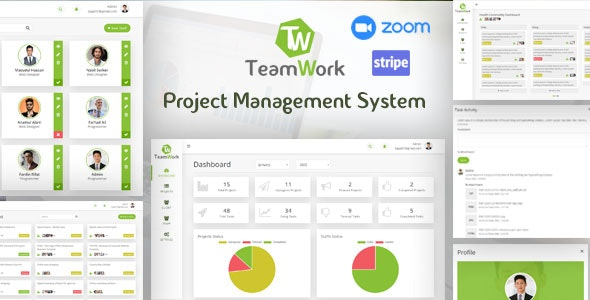 TeamWork - Project Management System - CodeCanyon Item for Sale