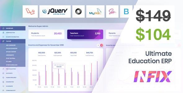 InfixEdu School - School Management System Software