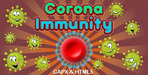 Corona Immunity Game (CAPX and HTML5) - CodeCanyon Item for Sale