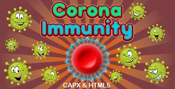 Corona Immunity Game (CAPX | HTML5 | Cordova)
