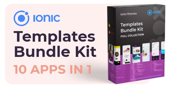 Ionic Bundle Kit - 10 apps - CodeCanyon Item for Sale