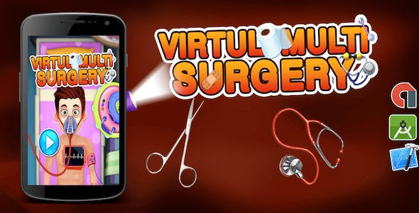 Kids Doctor Game + Virtual Multi Surgery + Ready For Publish + Android Studio