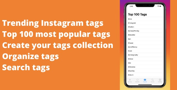 Hashtag Generator for Instagram - CodeCanyon Item for Sale