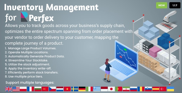 Inventory Management for Perfex CRM v1.1.7