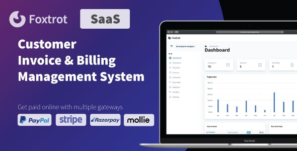 Foxtrot (SaaS) v1.0.1 – Customer, Invoice and Expense Management System