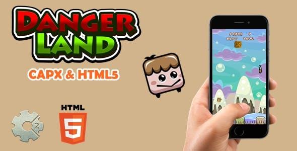 Danger Land - Html5 Game