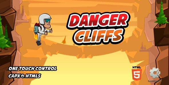 Danger Cliffs - Html5 Game - CodeCanyon Item for Sale