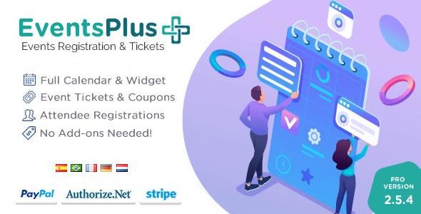 WordPress Events Calendar Registration & Tickets - CodeCanyon Item for Sale