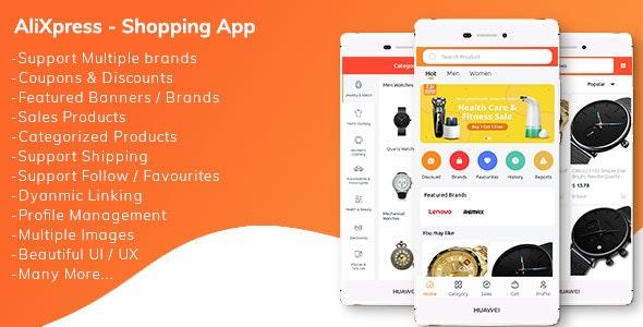 AliXpress App - Multi Vendor Shopping App - CodeCanyon Item for Sale