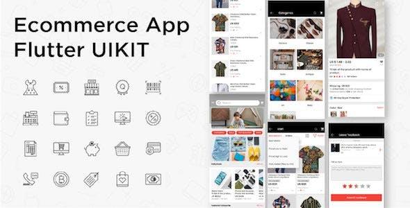 E-Commerce Android Native App UI Kit