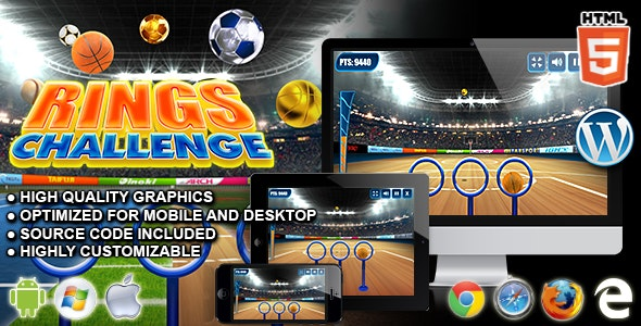 Rings Challenge - HTML5 Sport Game - CodeCanyon Item for Sale