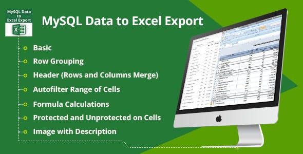 MySQL Data to Excel Export