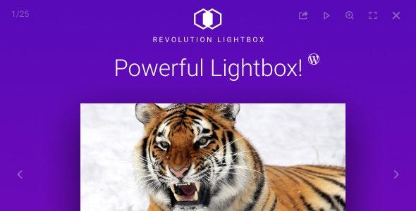 Revolution Lightbox WordPress Plugin v2.0