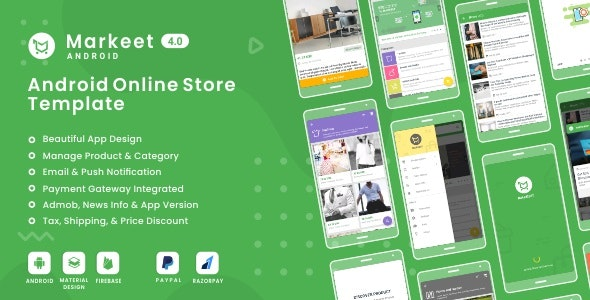 Markeet - Android Online Store 4.0 - CodeCanyon Item for Sale