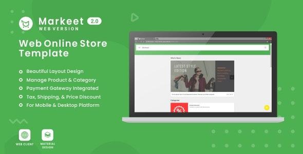 Markeet Web 2.0 - CodeCanyon Item for Sale