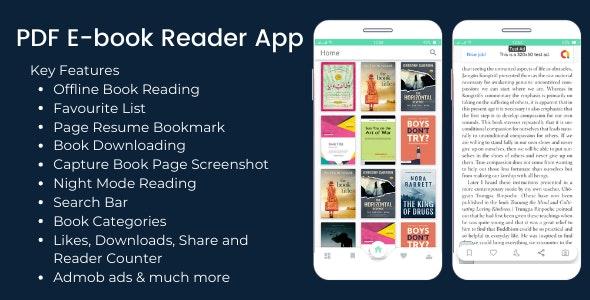 PDF Ebook Reader App + Admin App - CodeCanyon Item for Sale