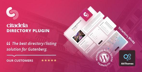 Citadela Directory Plugin - Listing plugin for Gutenberg - CodeCanyon Item for Sale