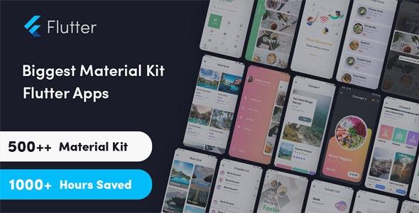 Flutter Bigkit - Flutter Material Widget Component in UI kit flutter - CodeCanyon Item for Sale