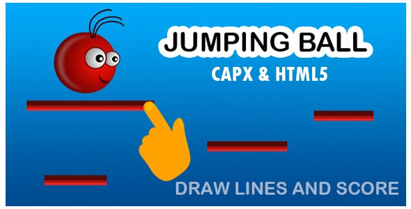 Jumping Ball Game (CAPX and HTML5)