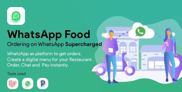 WhatsApp  Food - SaaS WhatsApp Ordering - CodeCanyon Item for Sale