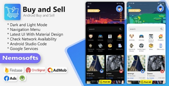 Buy and Sell Android Classified  App