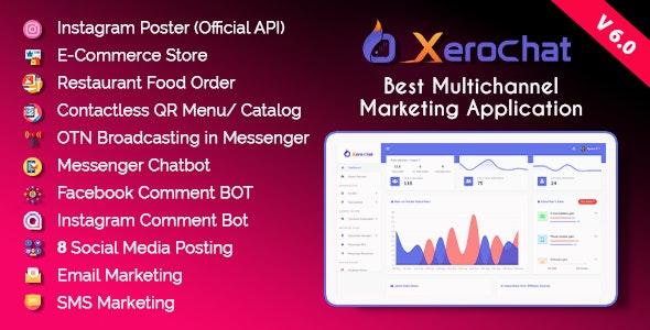 XeroChat v6.0 – Best Multichannel Marketing Application (SaaS Platform) – nulled