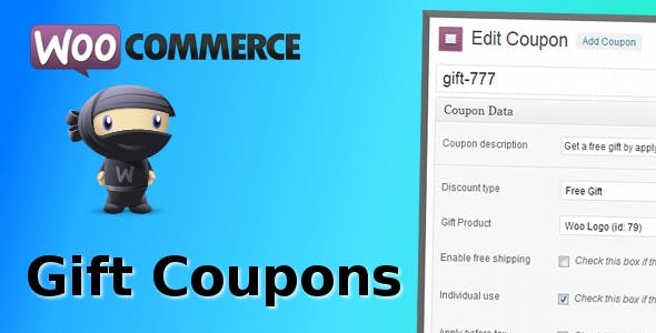 WooCommerce Gift Coupons