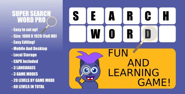 Super Word Search Pro