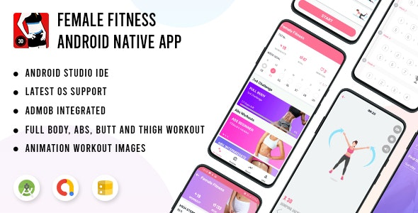 Female Fitness - Android App - CodeCanyon Item for Sale